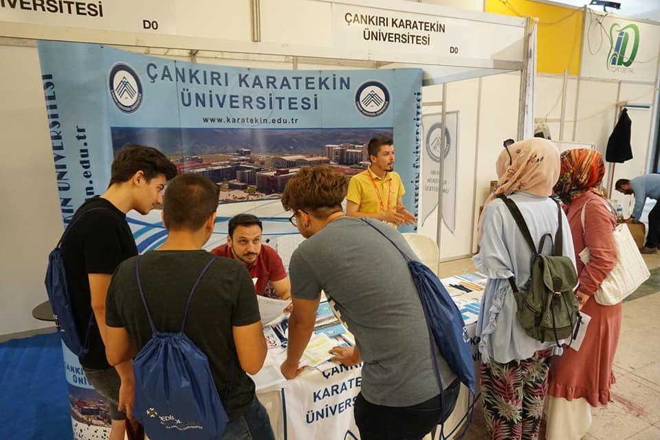Üniversite Tercih Fuarı 2019 Ankara ÇANKIRI KARATEKİN ÜNİVERSİTESİ