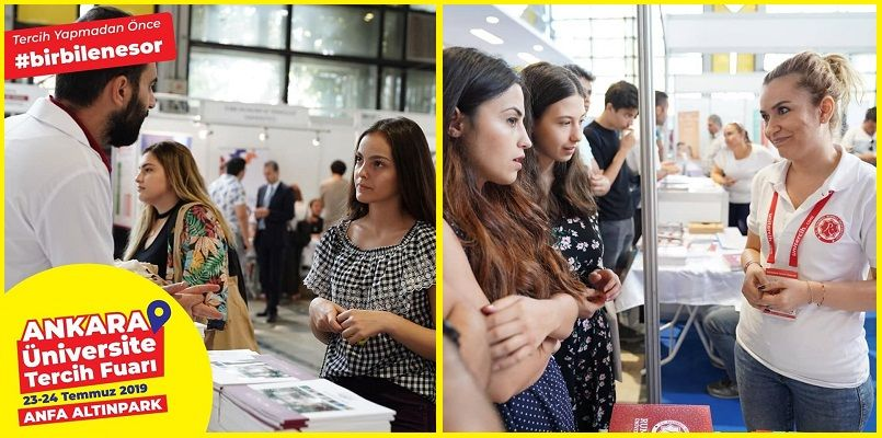 Ankara Üniversite Tercih Fuarı 2019