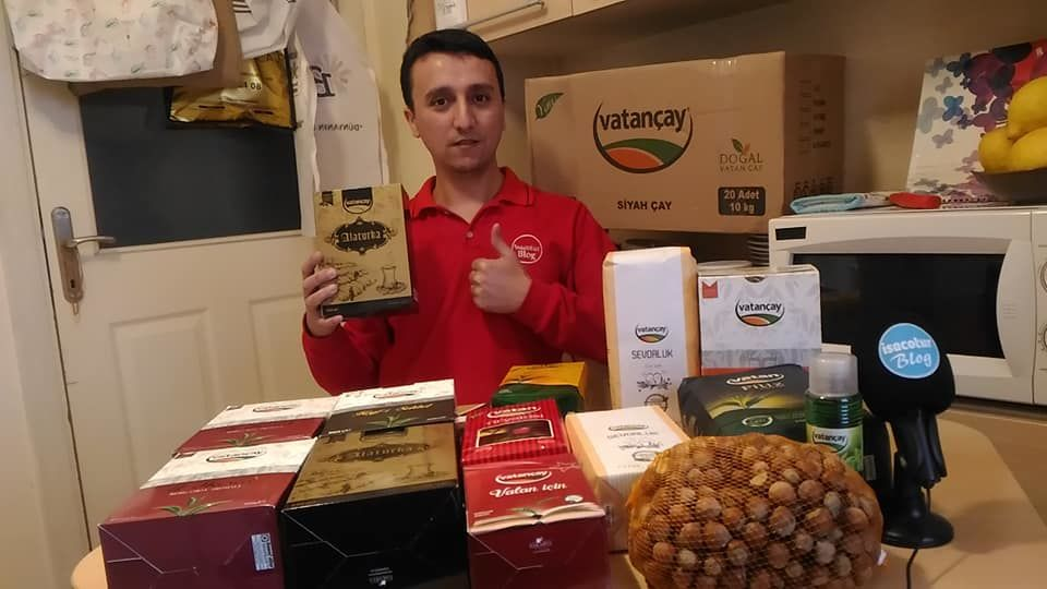 Vatan Çay Kolisi Açılışı Vlog