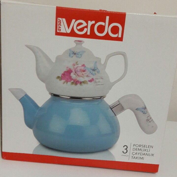 Verda Çaydanlık Takımı