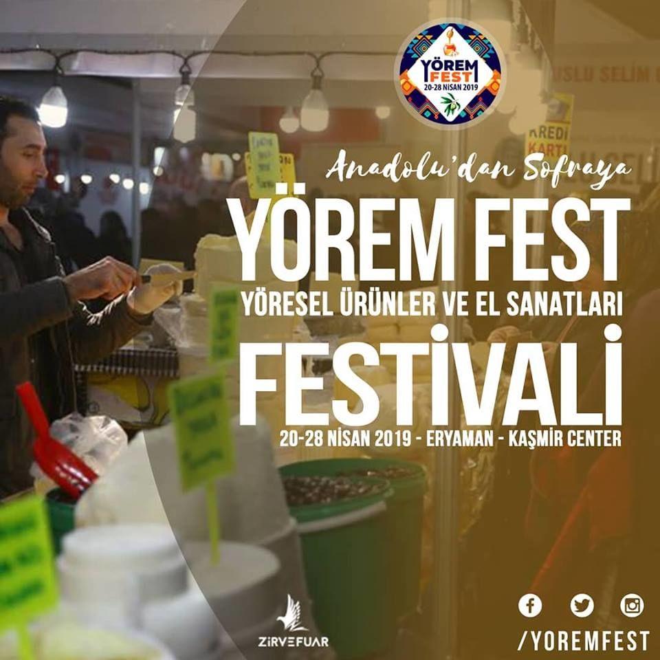 Yöresel Ürünler Festivali 'Yörem Fest'