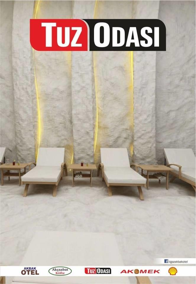 ılgaz Akbak otel tuz odası