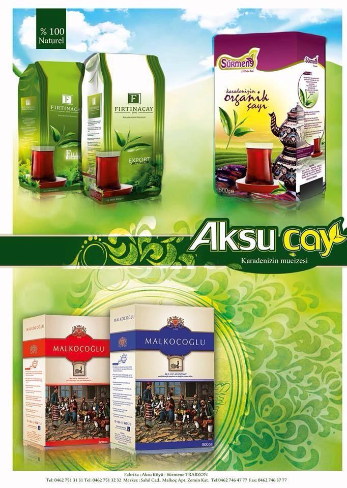 Aksu Çayın markaları