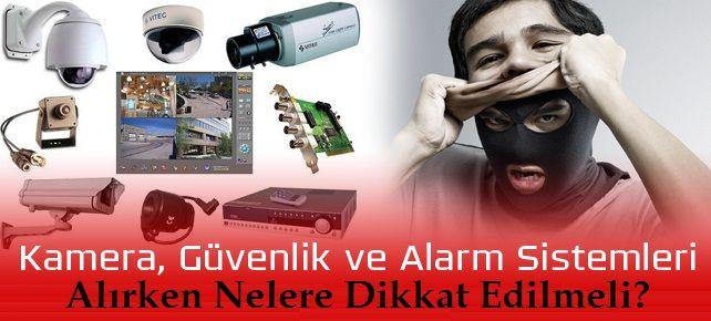 alarm sistemi taktırırken dikkat edilecekler