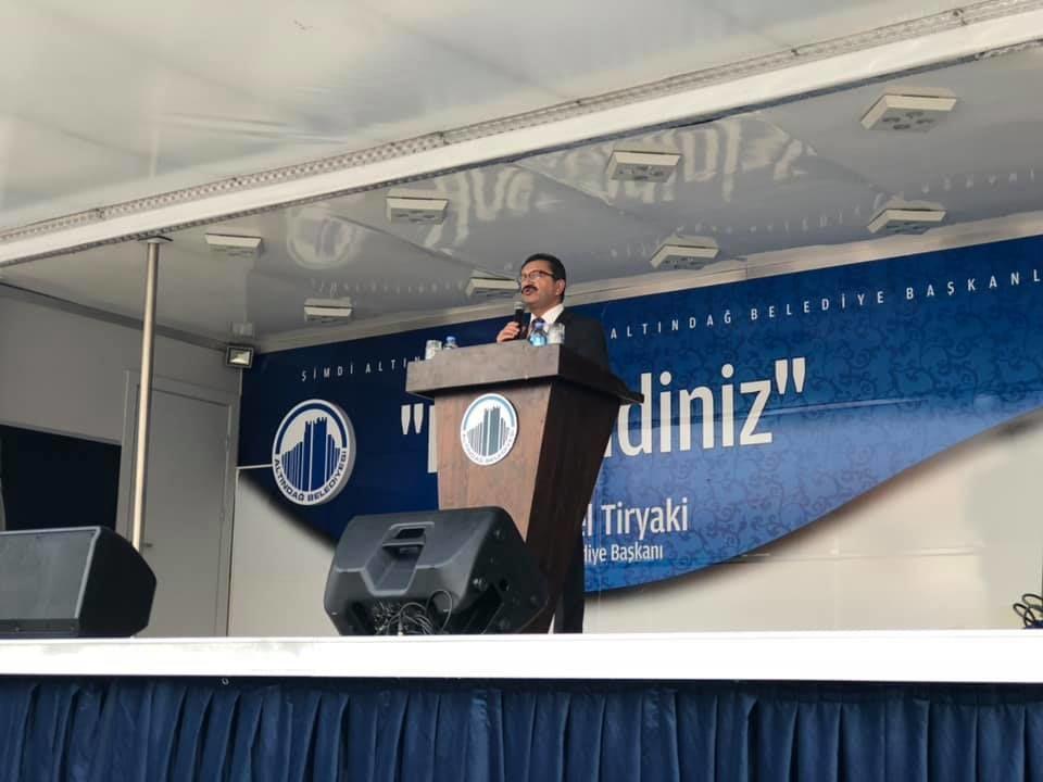 Altındağ Belediyesi 112 Acil Sağlık Hizmet İstasyonu Açılışı, Belediye Başkanı Veysel Tiryaki