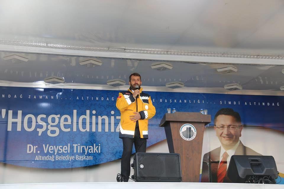 Altındağ Belediyesi 112 Acil Sağlık Hizmet İstasyonu Açılışı, Ankara İl Sağlık Müdürü Özkan Ünal