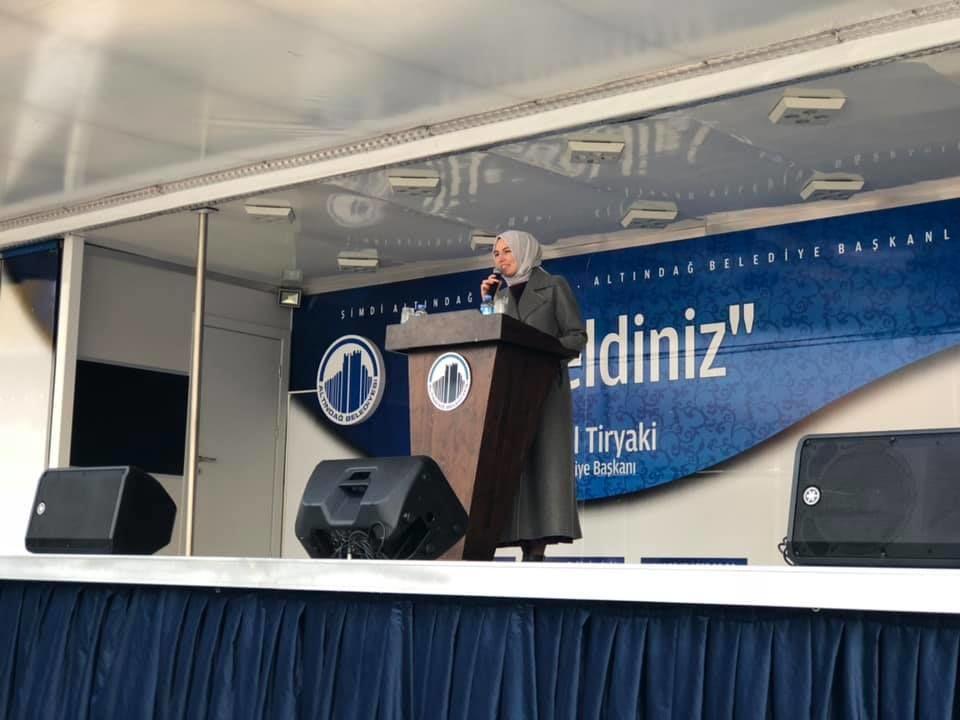 Altındağ Belediyesi 112 Acil Sağlık Hizmet İstasyonu Açılışı, AK Parti Ankara Milletvekili Zeynep Yıldız