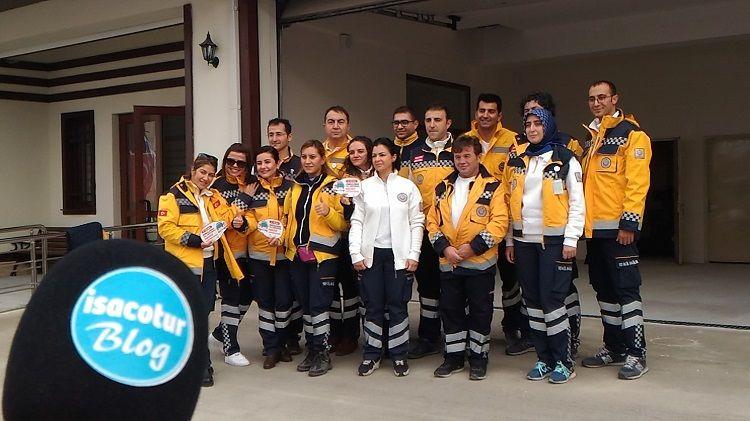 112 Acil Sağlık Hizmet İstasyonu Açılışı Altındağ Belediyesi
