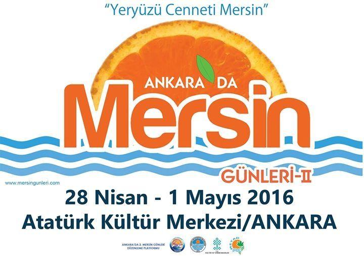 Başkent Ankara'da 2. Mersin Günleri 2016