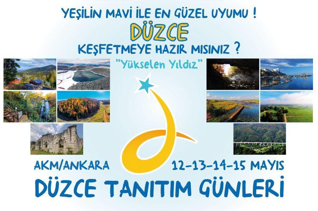 Düzce Tanıtım Günleri Ankara AKM'de
