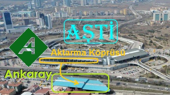 Ankaray Aşti Arası Aktarma Köprüsü