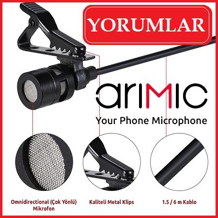 Arimic İkili Yaka Mikrofonu Özellikleri