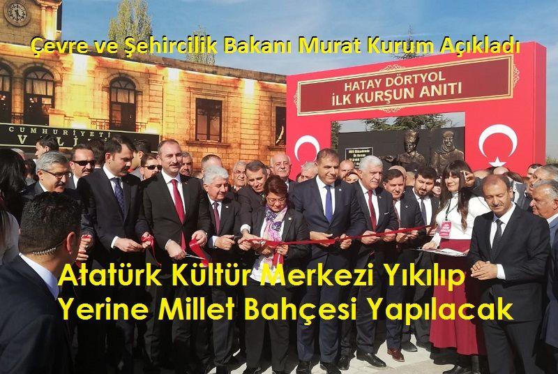 Ankara Atatürk Kültür Merkezi (AKM) Yıkılıyor Mu?