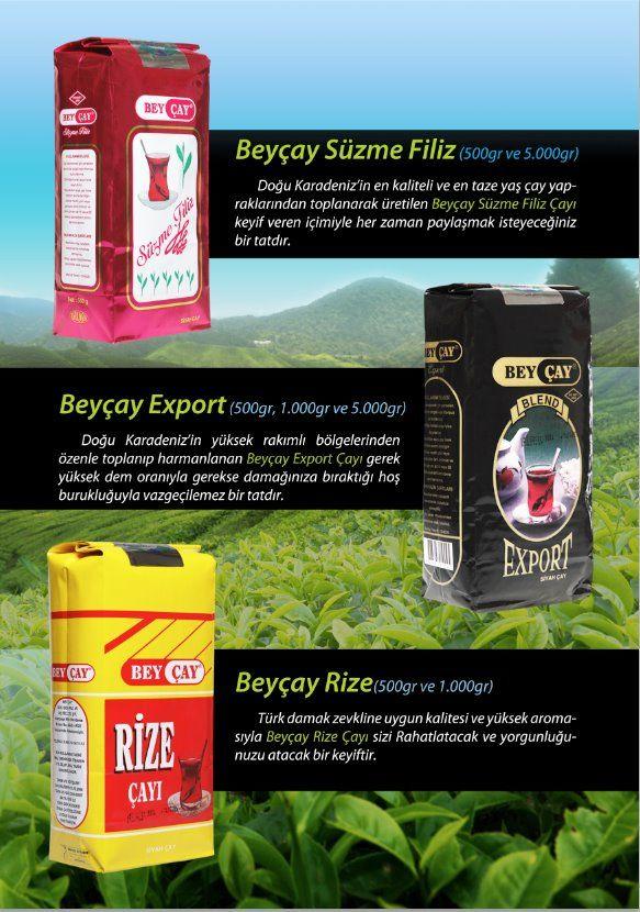 Bey Çay Markaları