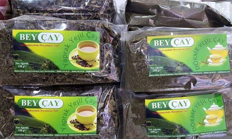 Beyçay dökme yeşil çay