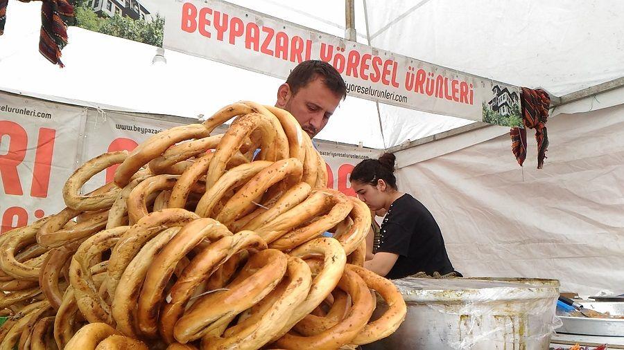 Beypazarı Yöresel Ürünleri2.Ekmek Festivalinde