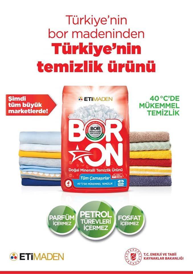 Boron Deterjan