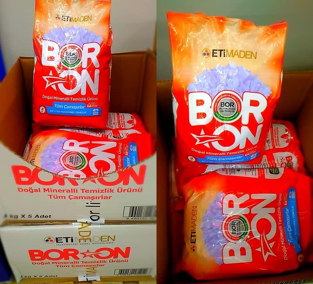 BORON nedir BORONun satış fiyatı ne kadar İşte ETİMADEN ilk yerli temizlik ürünü 90