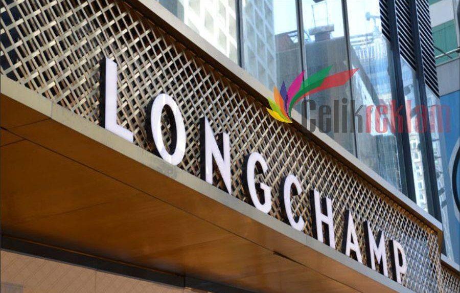 Longchamp Çelik Reklam Tabela Çalışması