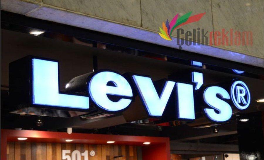 Levis Çelik Reklam Tabela Çalışması