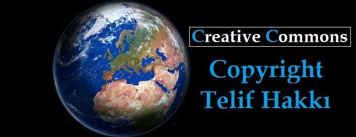 Creative Commons Copyright Telif Hakkı