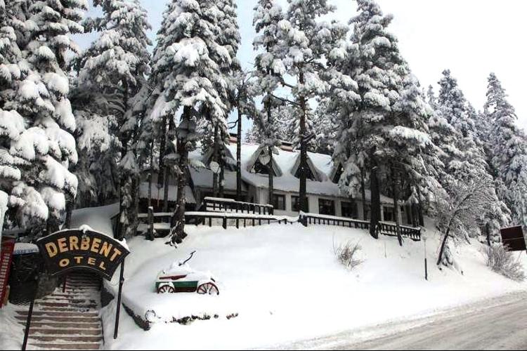 Ilgaz Derbent Otel Kış Manzarası