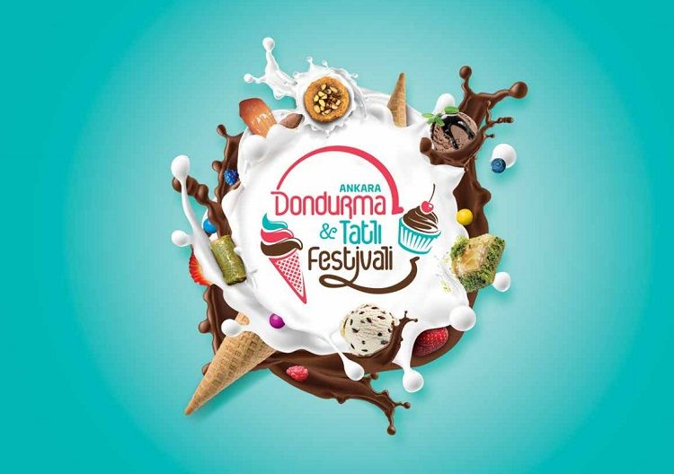 1.Ankara Dondurma ve Tatlı Festivali Reklam Çalışmaları