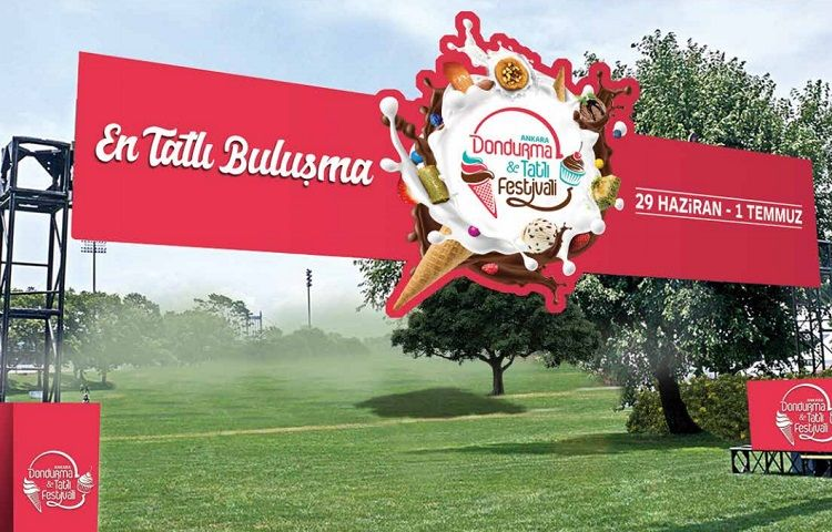 1.Uluslararası Ankara Dondurma ve Tatlı Festivali 2018