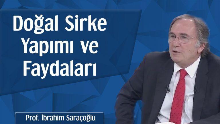İbrahim Saraçoğlu Evde Organik Elma Sirkesi Tarifi