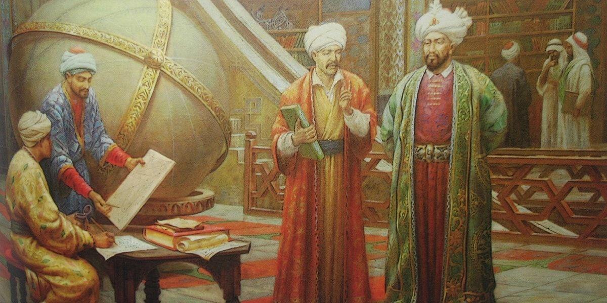 Hacı Bayramı Veli ve Sultan 2.Murad Han