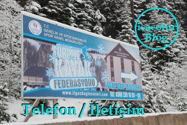 Ilgaz Kayak Federasyonu Tesisi Telefon
