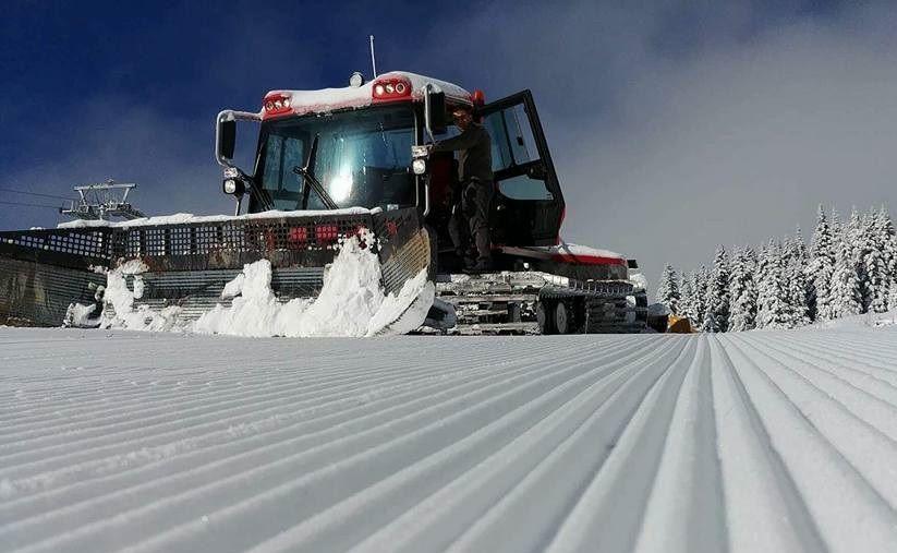 Ilgaz Yıldıztepe Kayak Merkezi kar kürüme aracı