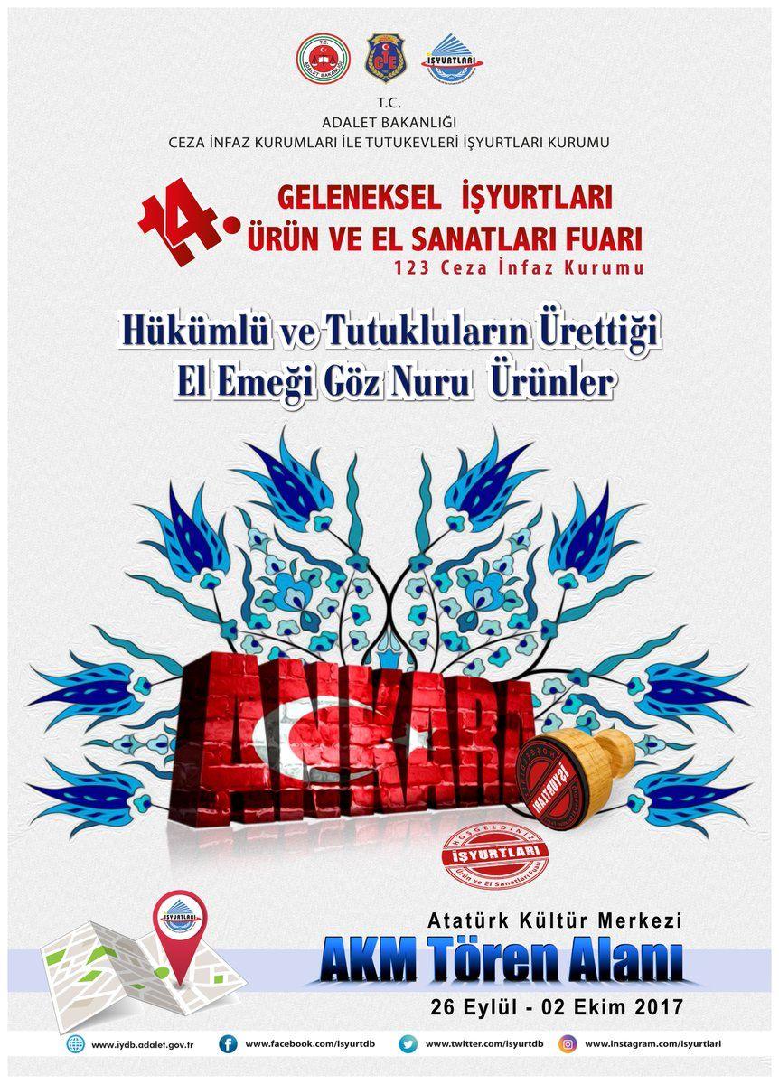 İş Yurtları Fuarı Ankara Akm 2017 Tanıtım Afişleri