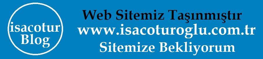 isacotur blog taşındı