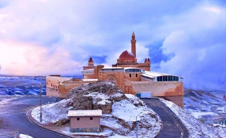 İshak Paşa Sarayı Kış Fotoğrafları,İshak Paşa Sarayı Winter Photos