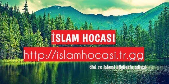 Dini Ve İslami Bilgiler Burada