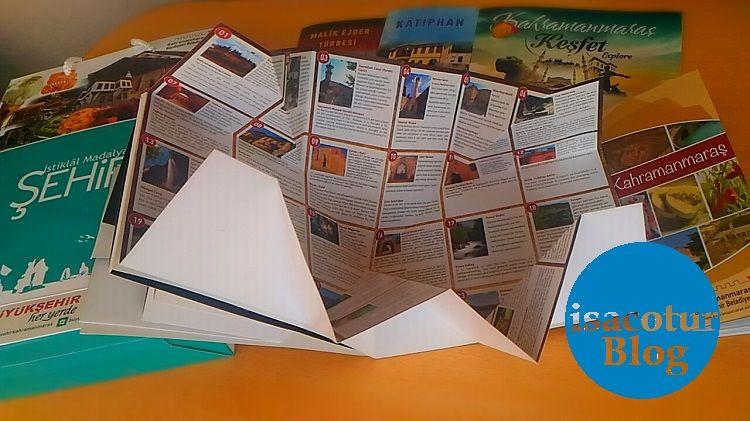 Kahramanmaraş Turizm Tanıtım Haritası