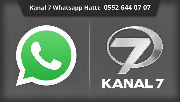 Kanal 7 Whatsapp İhbar Hattı