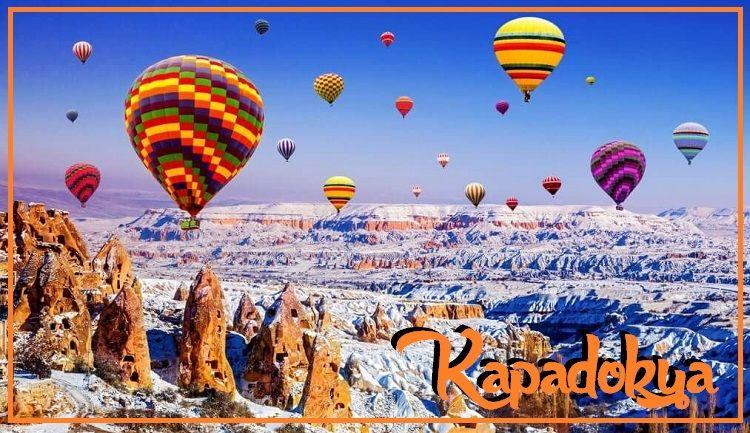 Kapadokya kışın gezmek