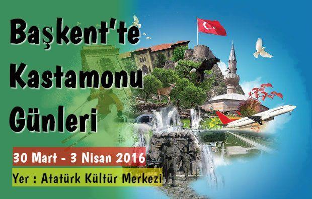 Başkent Ankara'da 12. Kastamonu Günleri Akm