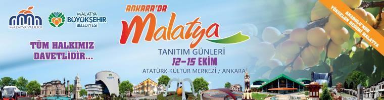 Ankara'da Malatya Tanıtım Günleri
