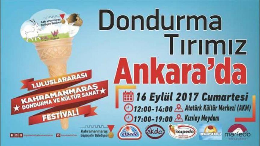 1.Uluslararası Kahramanmaraş Dondurma ve Kültür Sanat Festivali Tırı