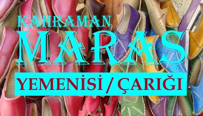 Maraş Yemenisi Çarığı Ankara Akm Fuarında