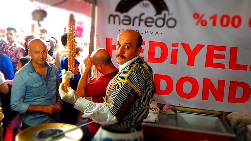 Marfedo Dondurma Ankara Akm Fuarında