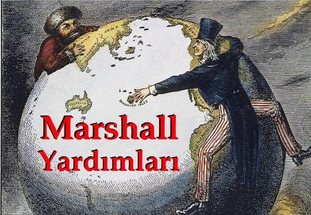Marshall Yardımı Alan Ülkeler Hangileri