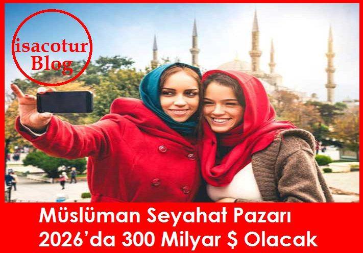 Müslüman Seyahat Pazarı 2026'da 300 milyar Dolar Olacak