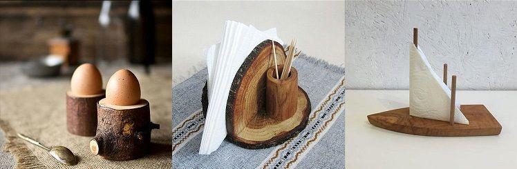 Nacizhane Tasarım Ağaç Dekoratif Ürünler