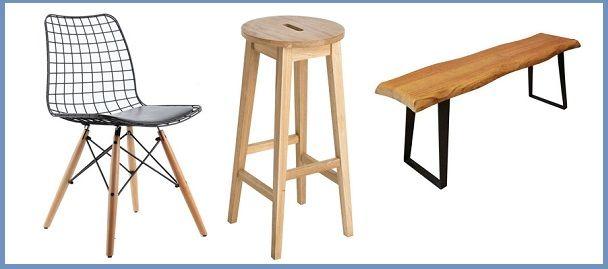 Nacizhane Tasarım Sandalye Tabure Bank