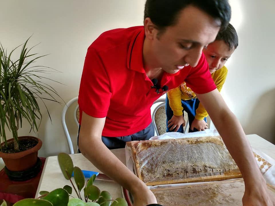 450 TL Değerindeki Organik Bal Paketi Açılışı, Organik Özlü Kelkit Balı