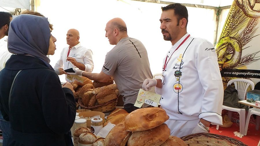 Özgünaydın Fırın2.Ekmek Festivalinde